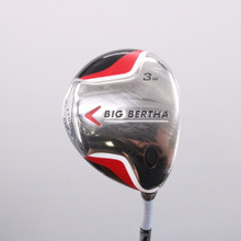 Callaway Big Bertha 3 Fairway Wood Graphite Regular Flex Right-Handed 69613G