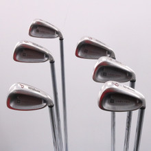 Wilson Deep Red Iron Set Steel FatShaft Regular Flex Right-Handed 69639G