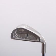 Ping EYE Individual 6 Iron Black Dot ZZ-Lite Steel Shaft Stiff Flex 69959W