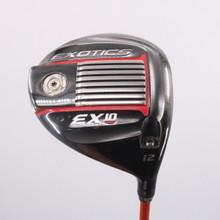 Tour Edge Exotics EX10 Driver 12 Degrees Tour AD Senior Flex Right-Handed 69870G