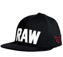 2020 TaylorMade Golf RAW Tour Release Flatbill Men's Adjustable Cap Hat, Black