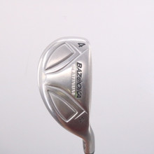 Tour Edge Bazooka Platinum Iron-Wood 4 Hybrid 23 Degrees Graphite Senior 70096W