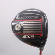 Tour Edge Exotics EX10 Driver 10 Degree Tour AD Regular Flex Right-Handed 70225G