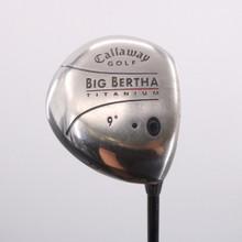 Callaway Big Bertha Titanium 9 Degrees Right-Handed Head Only 70590G