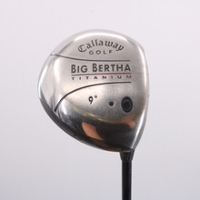 Callaway Big Bertha Titanium 9 Degrees Right-Handed Head Only 70590G