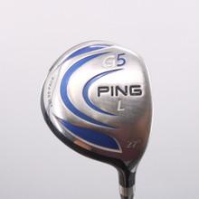 PING G5 L-Wood 27 Degrees TFC 100 Graphite Soft-Regular Senior Flex 71409G