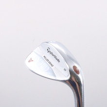 TaylorMade Milled Grind Satin Chrome Wedge 56 Degrees LB 09 Dynamic Gold 71736D