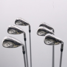 Callaway Solaire Iron Set 7-P,A,S Graphite W 50 Ladies Flex Right-Handed 71581G
