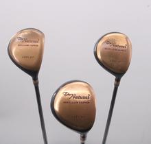 The Natural Beryllium Copper 3,5,7 Fairway Wood Set Graphite Stiff Flex 71791D