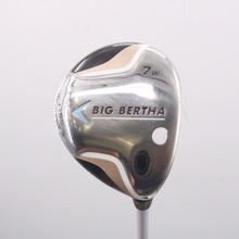 Callaway Big Bertha 7W Fairway Wood Graphite 55w Womens Ladies Flex 71809D