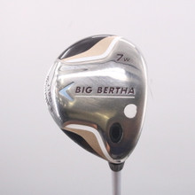 Callaway Big Bertha 7W Fairway Wood Graphite 55w Womens Ladies Flex 71809D