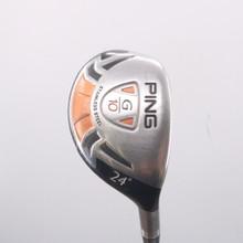 PING G10 Hybrid 24 Degree Graphite TFC 129 H Stiff Flex 71855D
