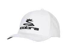 Cobra Golf Adjustable Snapback Cap Hat with Ball Marker - Color White HAT-CO-04