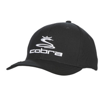 Cobra Golf Adjustable Snapback Cap Hat with Ball Marker - Color Black HAT-CO-02