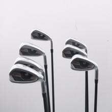 PING G400 Iron Set 5-W,U Black Dot Graphite Alta CB SR Senior Flex 71973G