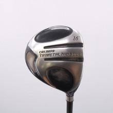 Orlimar Trimetal HipSteel Fairway Wood 16 Degrees Graphite Stiff Flex 72024D