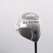 Callaway Big Bertha Steelhead Driver 11 Deg Graphite RCH 99 Regular Flex 71664W