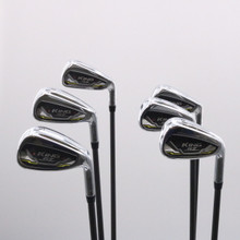 Cobra King SpeedZone Iron Set 6-P,G Graphite Recoil ES F2 Senior Flex 72154G