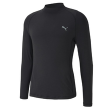 PUMA Golf Baselayer 2.0 Performance Long Sleeve Base Layer Shirt - Black