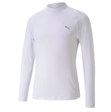 PUMA Golf Baselayer 2.0 Performance Long Sleeve Base Layer Shirt - White