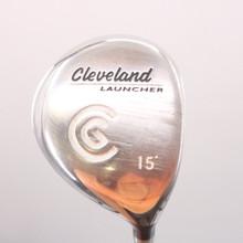 Cleveland Launcher 3 Fairway Wood 15 Degrees Graphite Gold Stiff Flex 72317G