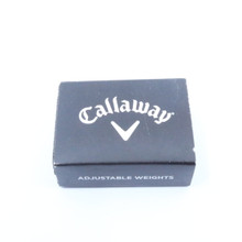 Callaway Adjustable Weight Pack 72414W