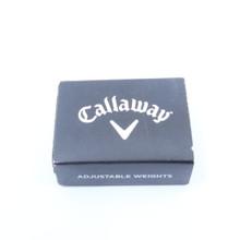 Callaway Adjustable Weight Pack 72414W