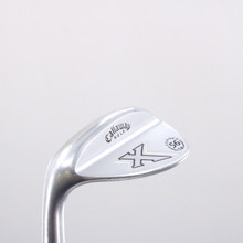 Callaway X Forged White Chrome Wedge 56 Degrees 56.14 Steel Left-Handed 72600D
