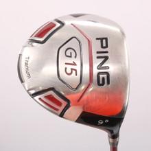 PING G15 Driver 9 Degrees Graphite TFC 149D Soft Regular Flex 72789D