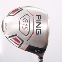 PING G15 Driver 9 Degrees TFC 149D Graphite Stiff Flex Right-Handed 73058D
