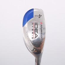 Adams IDEA 4 Hybrid-Iron Super Shaft Tight Lies Graphite Regular Flex 73145W