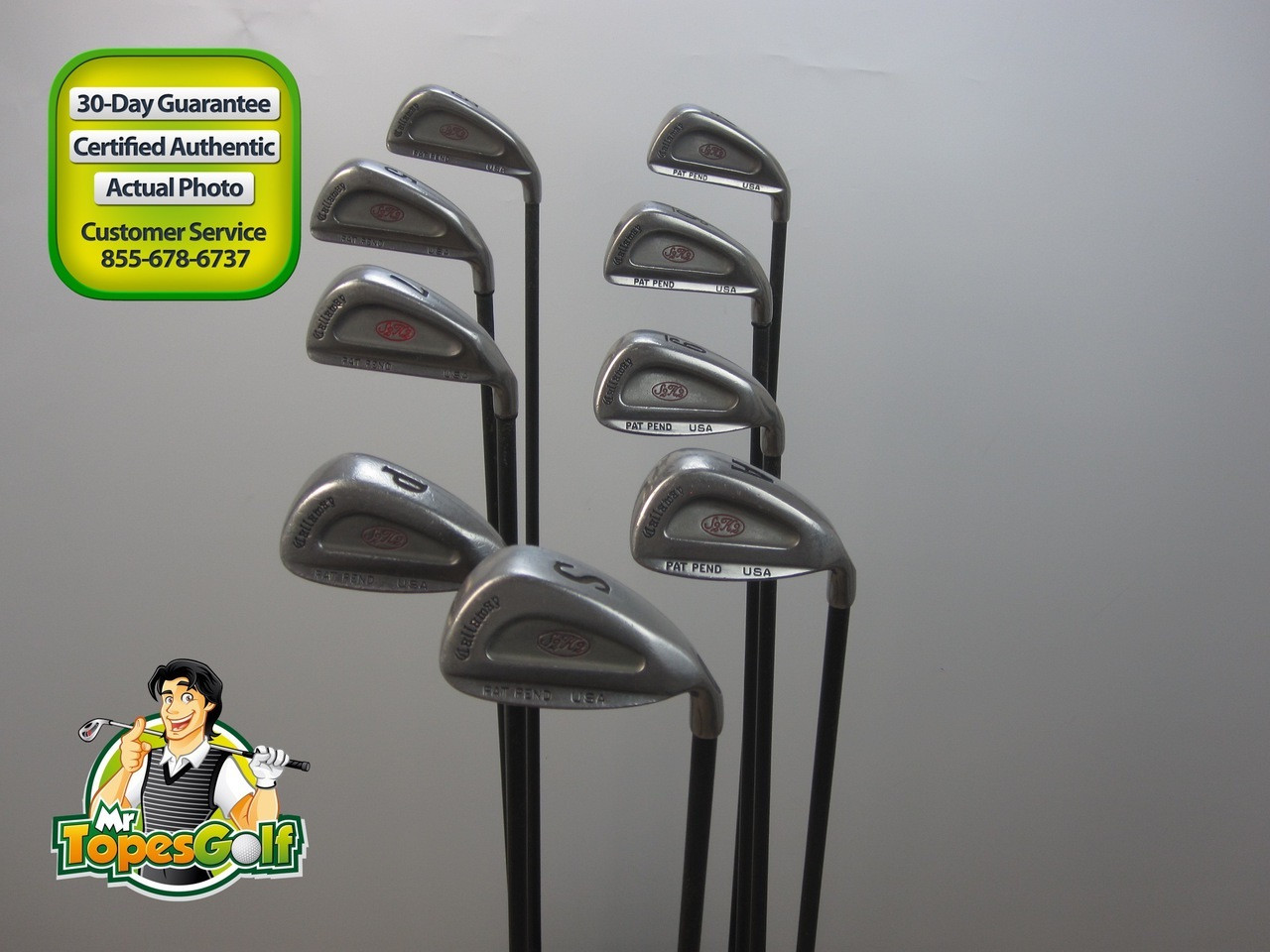 Callaway S2h2 Iron Set Rch 60 Graphite Shaft Regular Flex 13114 Mr