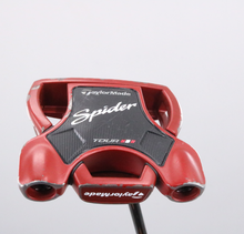 """TaylorMade Spider Tour Red Sightline Double Bend Putter 35"""" Right-Hand 73423D"""