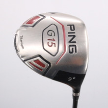 PING G15 Driver 9 Degrees ProLaunch Red Regular Flex Right-Handed 73654G