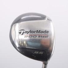 TaylorMade 200 Steel Driver 9.5 Degrees Lite R-80 Shaft Regular Flex 74277W