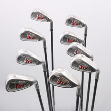 TaylorMade Burner XD Iron Set 4-P,A,S Graphite REAX 65 Stiff Right-Handed 74703D