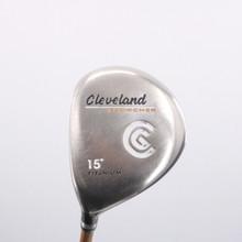 Cleveland Launcher 3 Fairway Wood 15 Degrees Gold Stiff Flex Left-Handed 74900G