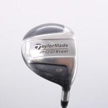 TaylorMade 200 Steel 3 Wood 15 Degree Graphite Lite R-80 Regular Flex 74903G