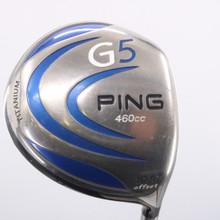 PING G5 460cc Driver Offset 10.5 Deg Graphite ProLaunch Blue Regular Flex 75502W