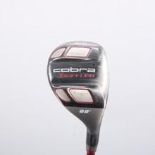 Cobra Baffler T-Rail + 4/H Hybrid 22 Degree Graphite Design Regular Flex 75507W