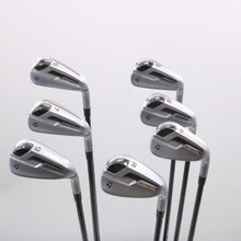 TaylorMade P790 TI Iron Set 5-P,A Mitsubishi MMT 65 Graphite Regular Flex 75436D