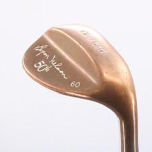 Cleveland Byron Nelson 50th Copper L LW Lob Wedge 60 Degrees Steel Shaft 75312C