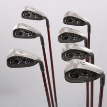 Ping K15 Iron Set 5-W,U Blue Dot Graphite Shaft TFC 149 Regular Flex 74923G