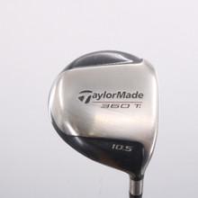 TaylorMade 360 Ti Driver 10.5 Degrees Bubble R-80 Graphite Regular Flex 75810W
