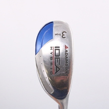 Adams IDEA 3 Hybrid-Iron Super Shaft Tight Lies Graphite Regular Flex 75884W