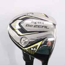 Honma Be Zeal 525 Driver 9.5 Degrees Graphite Stiff Flex Headcover 76228D
