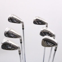 TaylorMade M4 Iron Set 6-P,A Steel KBS MAX 85 S Stiff Right-Handed 76278D