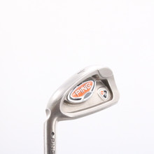 Ping i10 Individual 4 Iron Black Dot Steel Shaft Stiff Flex Left-Handed 76885C