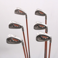 Ping i10 Iron Set 5-W Orange Dot Graphite TFC 129I Stiff Right-Handed 77044D
