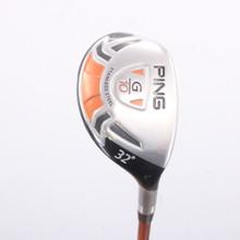 PING G10 Hybrid 32 Degrees Graphite TFC 129 H Stiff Flex Right-Handed 77374G